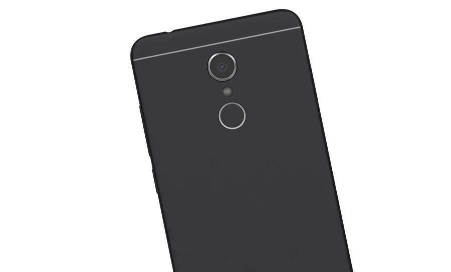 Xiaomi Redmi 5 Black royalty-free 3d model - Preview no. 16