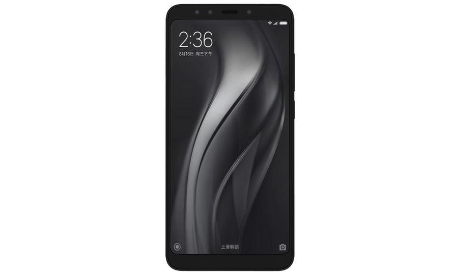 Xiaomi Redmi 5 Black royalty-free 3d model - Preview no. 7