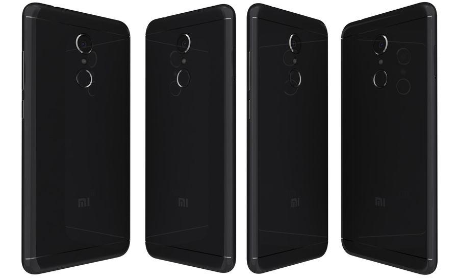 Xiaomi Redmi 5 Black royalty-free 3d model - Preview no. 3
