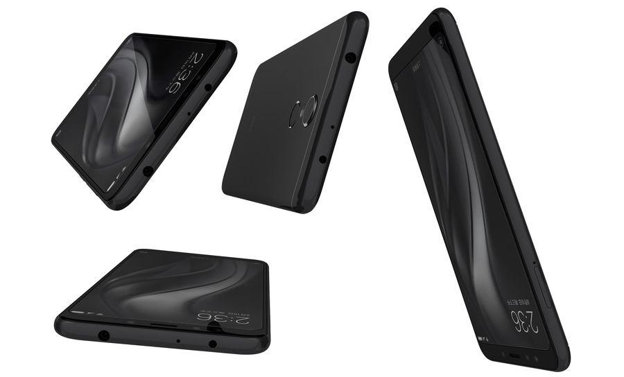 Xiaomi Redmi 5 Black royalty-free 3d model - Preview no. 14