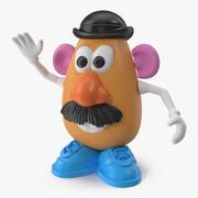 Oyuncak Bay Patates Kafa 3d model