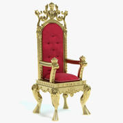 Kings Throne Chair 2 3d model