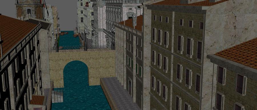 Sunset Venice Landscape royalty-free 3d model - Preview no. 13