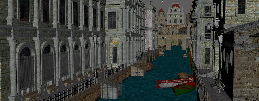 Sunset Venice Landscape royalty-free 3d model - Preview no. 7