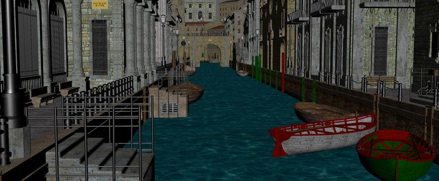 Sunset Venice Landscape royalty-free 3d model - Preview no. 11