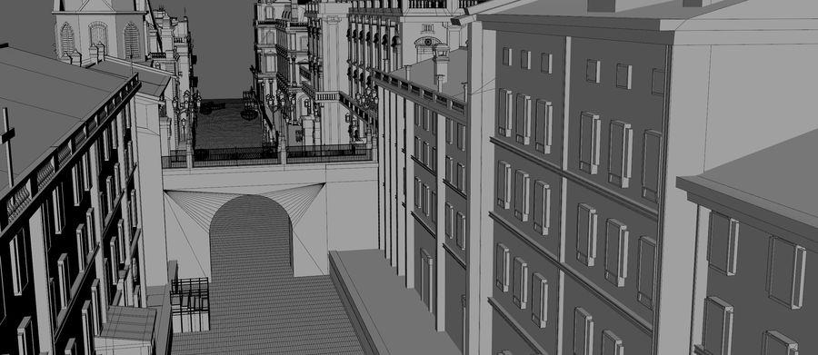 Sunset Venice Landscape royalty-free 3d model - Preview no. 14
