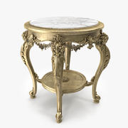 Luxury Side Table _ 23 3d model