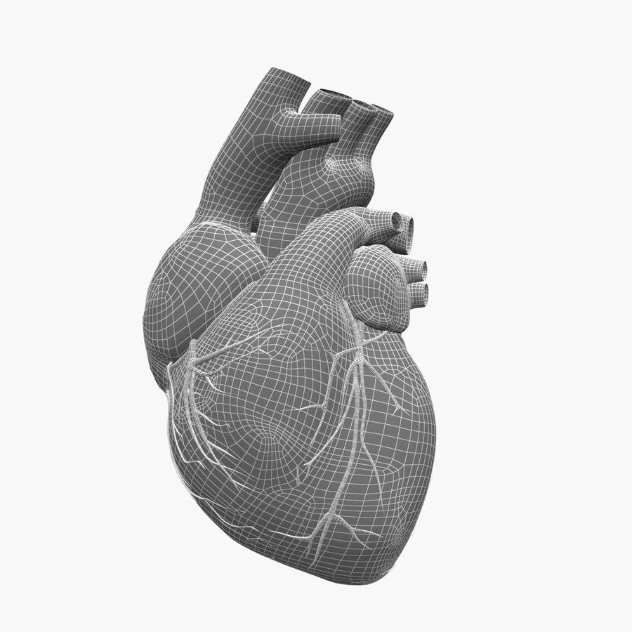 Animowane ludzkie serce royalty-free 3d model - Preview no. 6