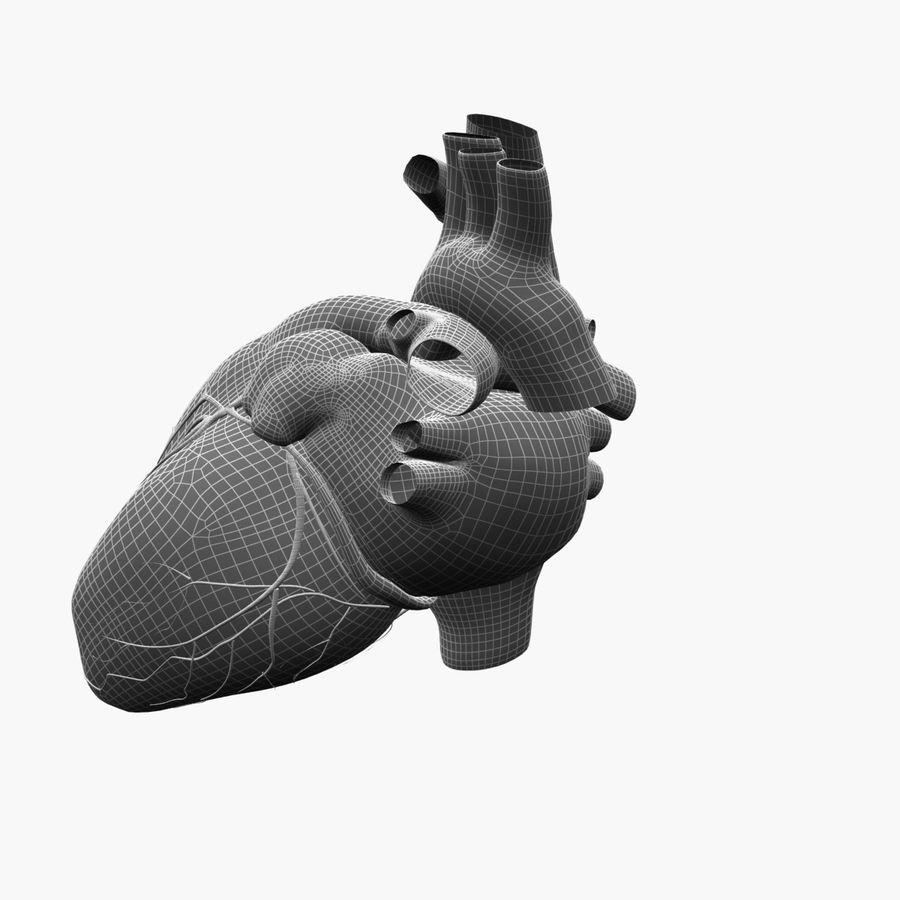 Animowane ludzkie serce royalty-free 3d model - Preview no. 8