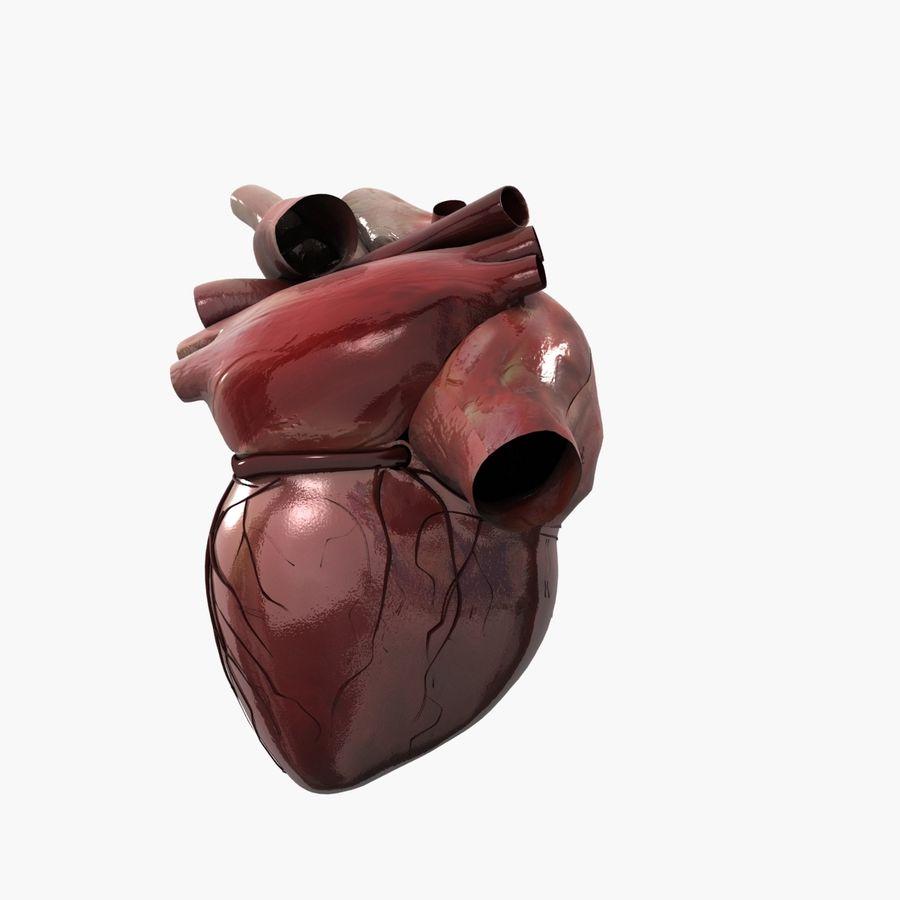 Animowane ludzkie serce royalty-free 3d model - Preview no. 4
