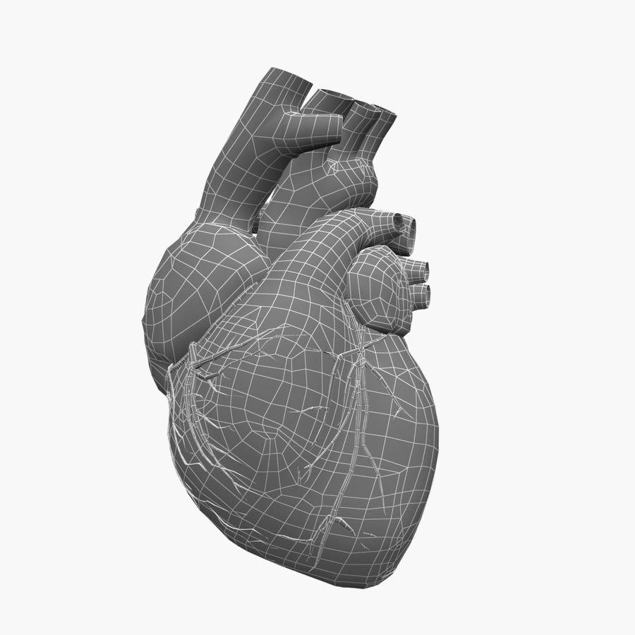 Animowane ludzkie serce royalty-free 3d model - Preview no. 7