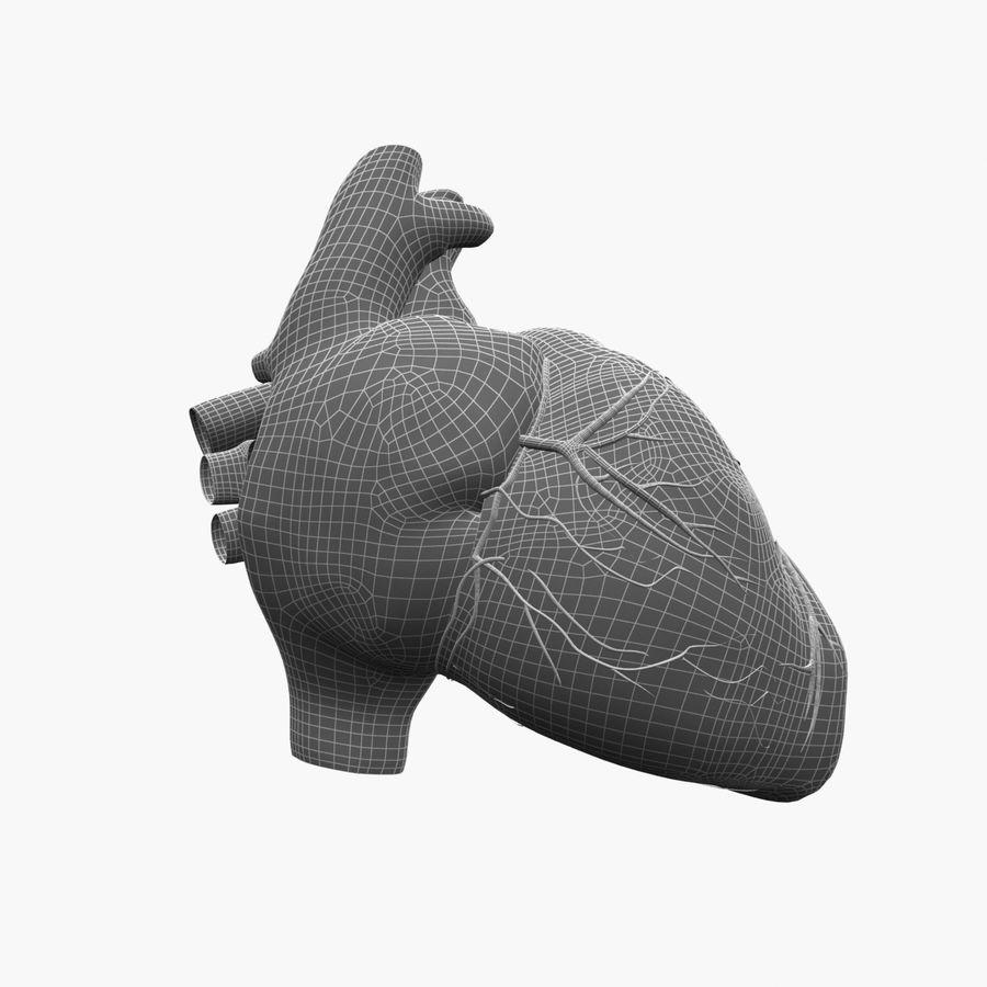 Animowane ludzkie serce royalty-free 3d model - Preview no. 10