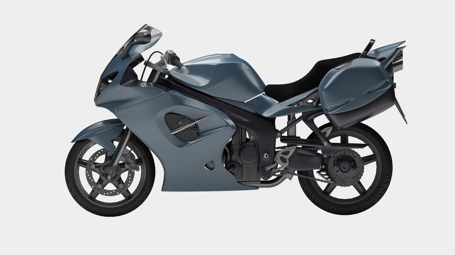 Motor Bike royalty-free 3d model - Preview no. 5