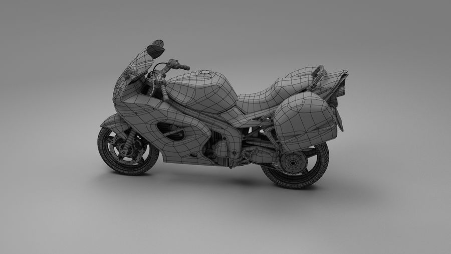 Motor Bike royalty-free 3d model - Preview no. 9