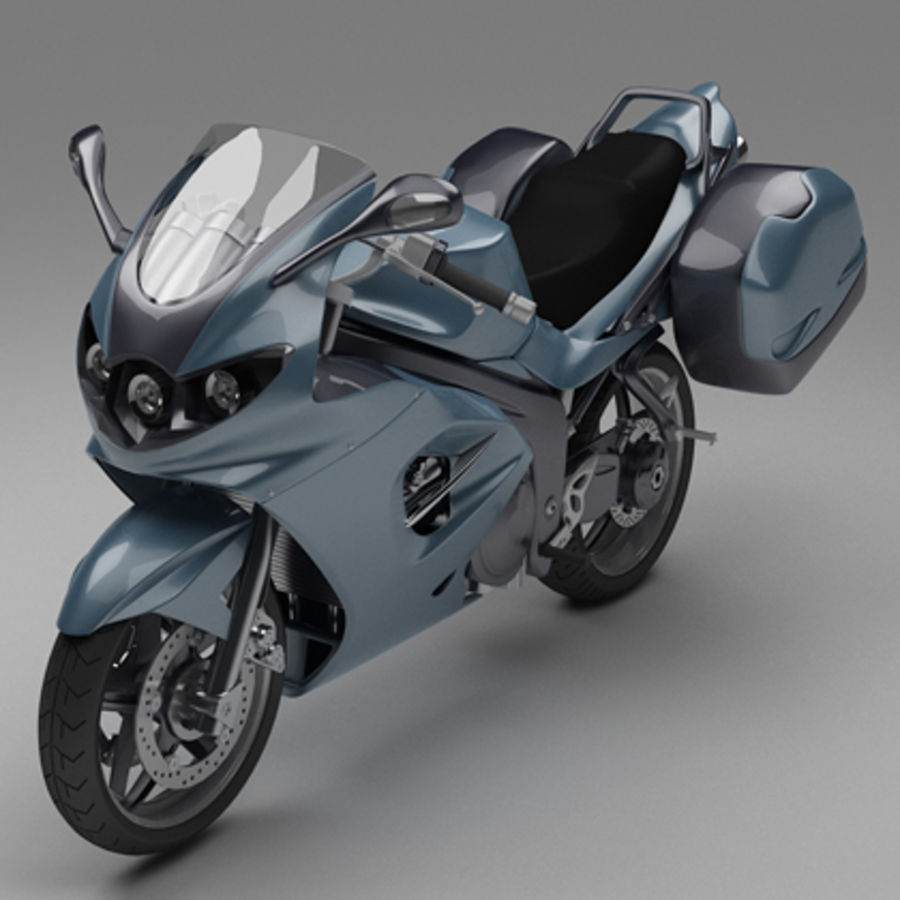 Motor Bike royalty-free 3d model - Preview no. 1
