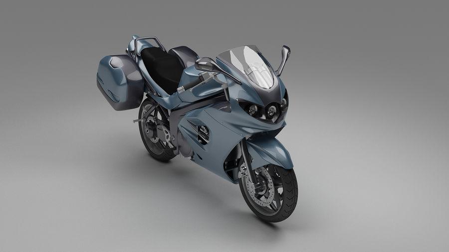 Motor Bike royalty-free 3d model - Preview no. 4