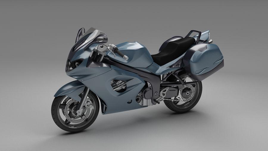 Motor Bike royalty-free 3d model - Preview no. 2
