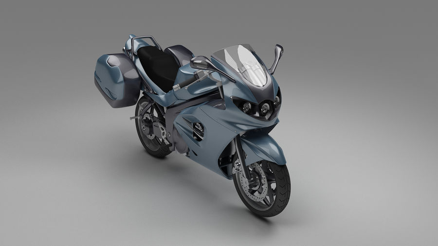 Motor Bike royalty-free 3d model - Preview no. 4
