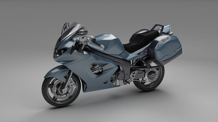 Motor Bike royalty-free 3d model - Preview no. 2