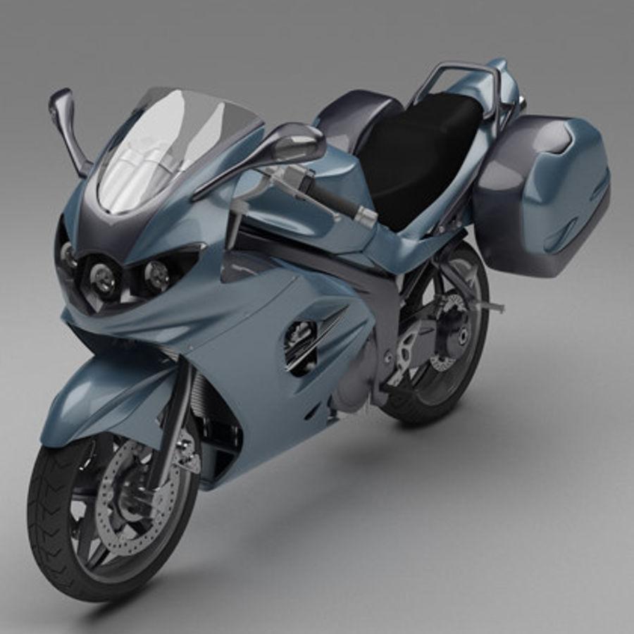 Motor Bike royalty-free 3d model - Preview no. 1