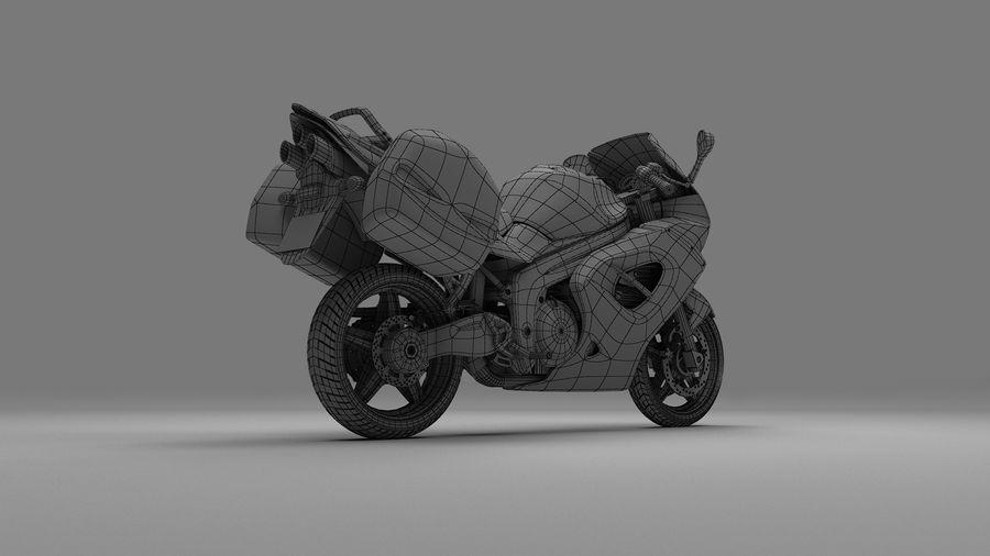 Motor Bike royalty-free 3d model - Preview no. 8