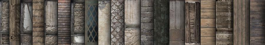 Średniowieczna fantazja domowa 10 royalty-free 3d model - Preview no. 9