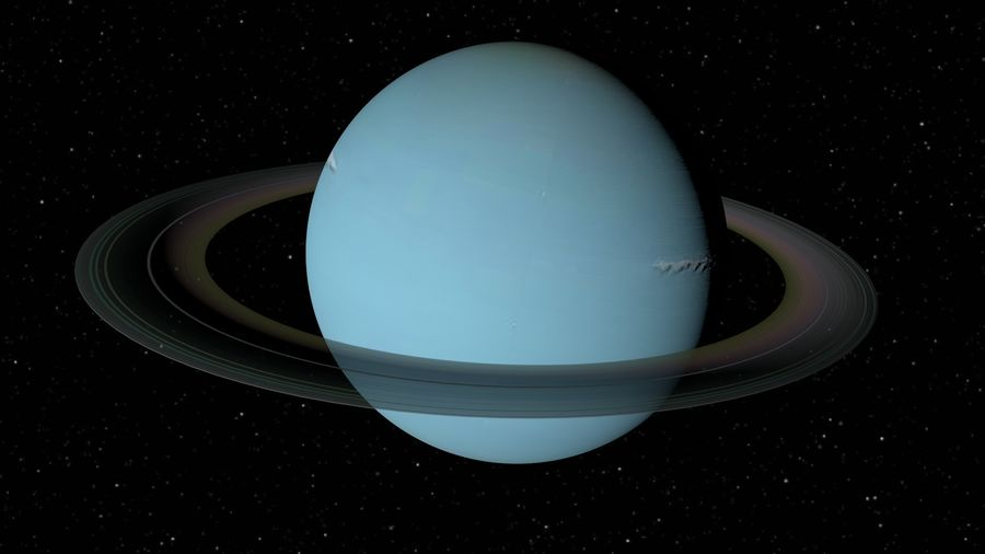 Solar System Planets royalty-free 3d model - Preview no. 8