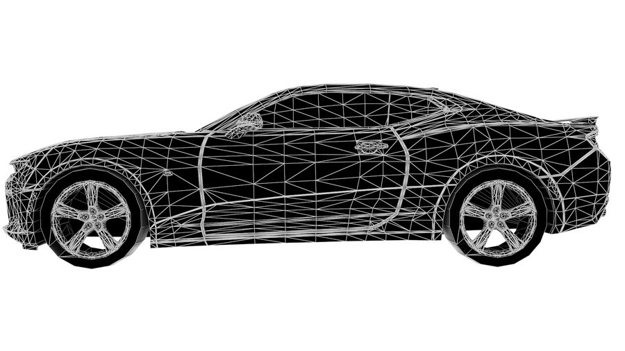 Sports Vehicle royalty-free 3d model - Preview no. 7