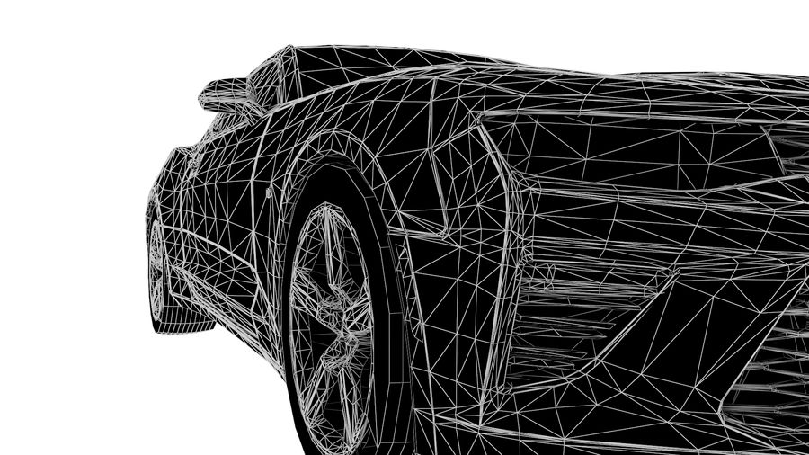 Sports Vehicle royalty-free 3d model - Preview no. 10