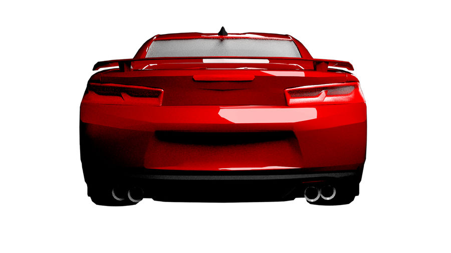 Sports Vehicle royalty-free 3d model - Preview no. 3