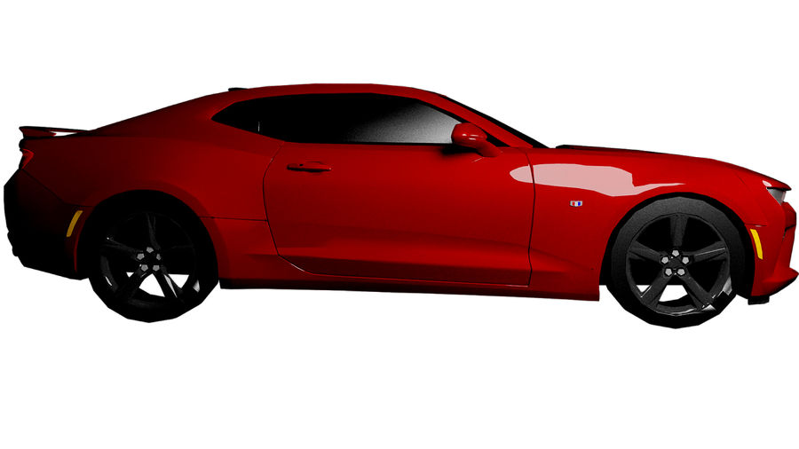 Sports Vehicle royalty-free 3d model - Preview no. 2