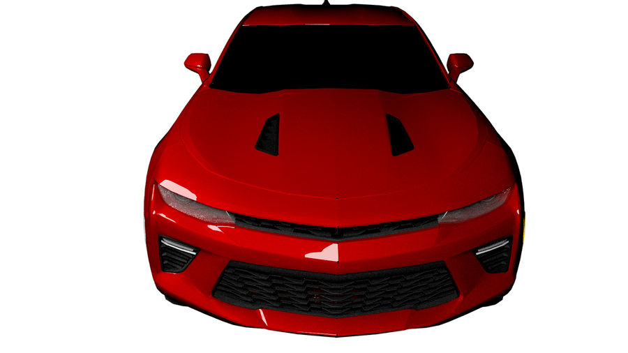 Sports Vehicle royalty-free 3d model - Preview no. 1
