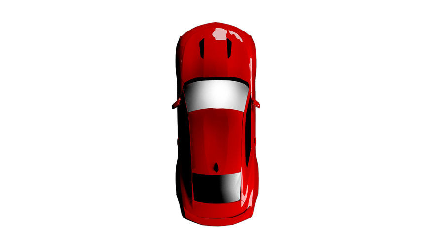 Sports Vehicle royalty-free 3d model - Preview no. 4