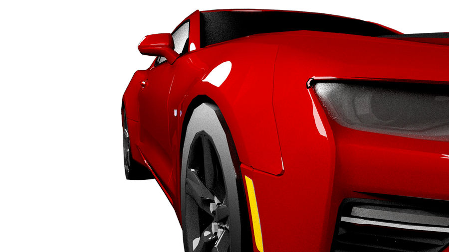 Sports Vehicle royalty-free 3d model - Preview no. 5