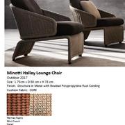 Minotti Halley Lounge Lounge 3d model
