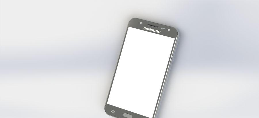 삼성 J7 royalty-free 3d model - Preview no. 3