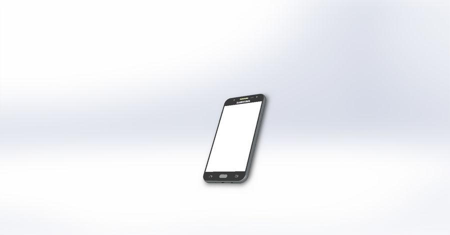 삼성 J7 royalty-free 3d model - Preview no. 6