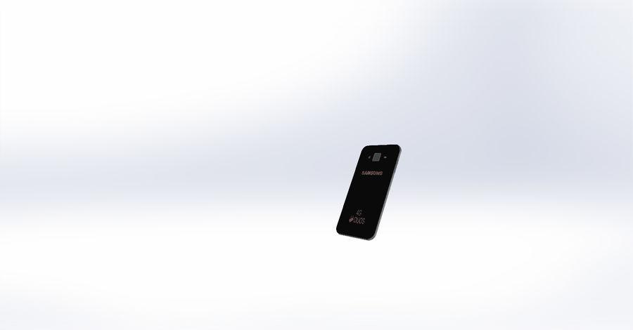 삼성 J7 royalty-free 3d model - Preview no. 2