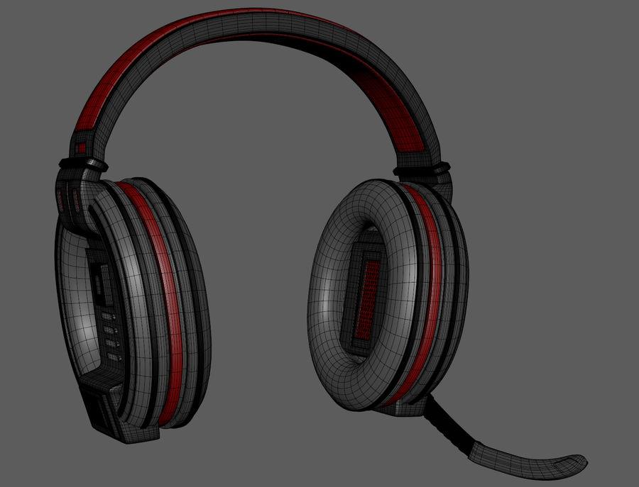Gamer-koptelefoon royalty-free 3d model - Preview no. 11