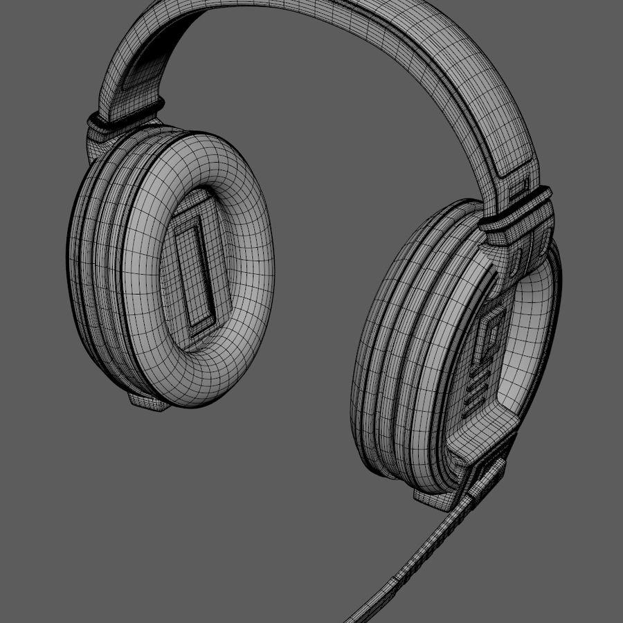 Gamer-koptelefoon royalty-free 3d model - Preview no. 10