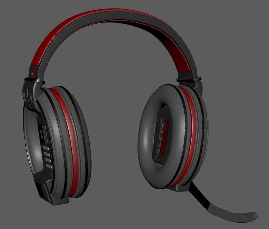 Gamer-koptelefoon royalty-free 3d model - Preview no. 6