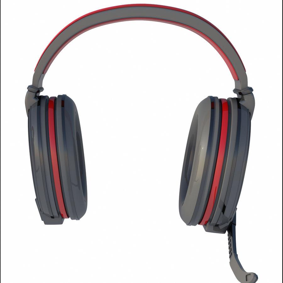 Gamer-koptelefoon royalty-free 3d model - Preview no. 2