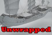 Asia Ship 3d model
