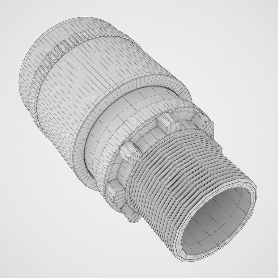Emergency Stop Key Reset 04 royalty-free 3d model - Preview no. 18