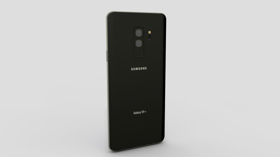 Samsung Galaxy S9 Plus royalty-free 3d model - Preview no. 10