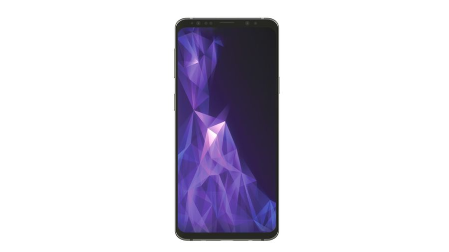 Samsung Galaxy S9 Plus royalty-free 3d model - Preview no. 11
