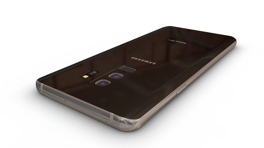 Samsung Galaxy S9 Plus royalty-free 3d model - Preview no. 7