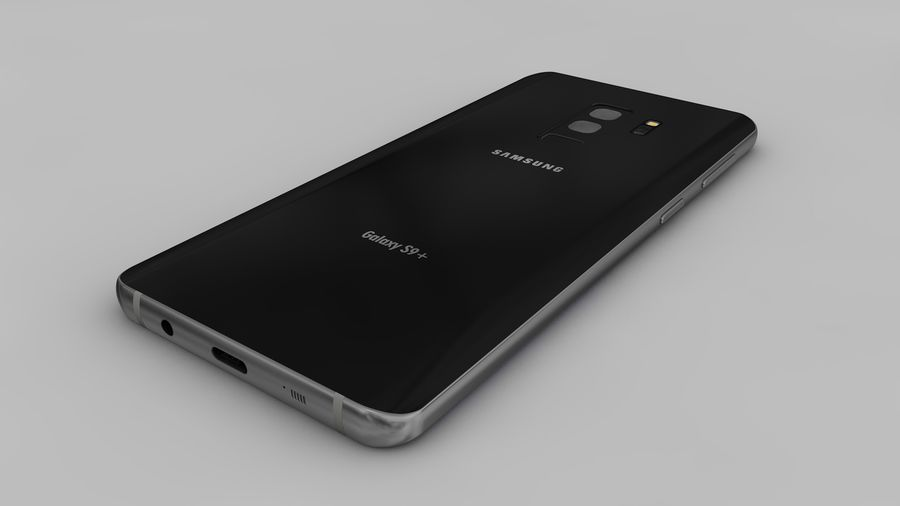 Samsung Galaxy S9 Plus royalty-free 3d model - Preview no. 18