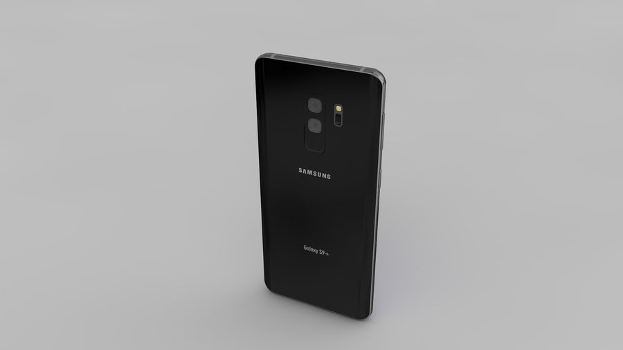 Samsung Galaxy S9 Plus royalty-free 3d model - Preview no. 16