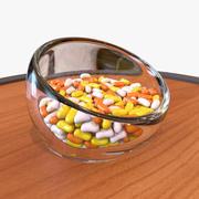 halloween jelly beans 3d model